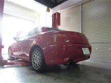 猛暑ドライブに欠かせないエアコン!夏のおすすめパック施工 アルファロメオ GT