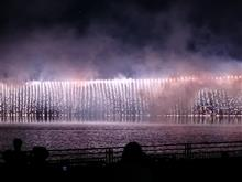 競艇場の花火大会
