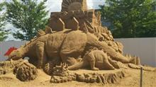 あさひ砂の彫刻美術展2016と嘉平屋