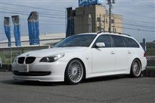 TEXAエアコンクリーニング BMW E61 525+エンジンオイル交換