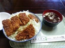 会津ソースカツ丼を堪能