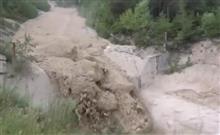 無理ゲー過ぎ!土石流の本当の怖さが分かる映像が話題に!これは逃げられないわ。