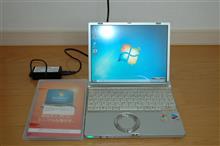 NOTE-PCをwin7にバージョンアップ