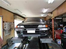 【田中オートサービス】32GT-R(BNR32)車高調取付&点検