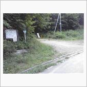東秩父の林道