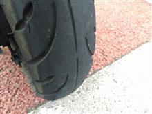 タイヤ、終わったか・・・。
