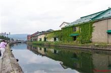 真夏の小樽回遊~百合の花と運河とスイーツと~
