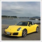 黄色いtarga4Sに乗って ...