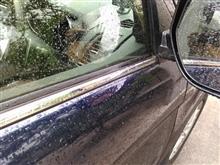 久々の洗車→雷雨