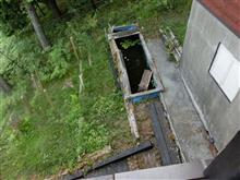山の池の改修工事