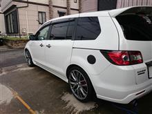 MPV最後の洗車〜♪