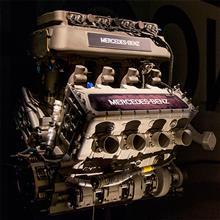【Mercedes-Benz Museum】14   Mercedes-Benz Indy Engine 265E, 1994