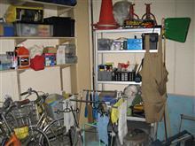 ガレージの整理整頓