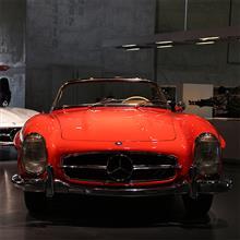 【Mercedes-Benz Museum】18 | Mercedes-Benz 300SL Roadster (W198) 1962