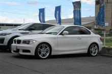 サスペンション交換..SACHS RS-1 BMW E82 135+LLC交換