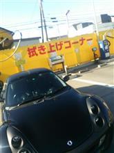 洗車機初体験や(;・ω・)