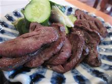 道志村で、激ウマ牛タン定食を頂く!