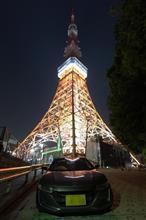 昨晩は東京タワーまでドライブ〜Σ( ̄。 ̄ノ)ノ