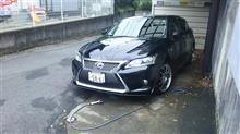 やっぱり洗車(><)
