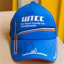 【WTCC 2016 もてぎ】03   ティアゴ・モンテイロ、ロブ・ハフ サイン入りWTCCキャップ