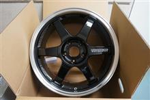 今日のホイール RAYS Volk Racing TE37 TTA PROGRESSIVE MODEL(レイズ ボルクレーシング TE37 TTA プログレッシブモデル) -トヨタ 16アリスト用-