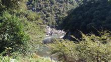 保津峡にてウォーキング