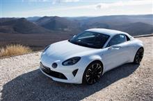 アルピーヌの新型スポーツカーはアルファロメオ4C/ポルシェ・ケイマンと同じ価格帯になる模様