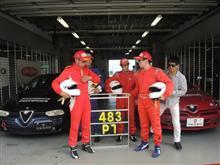 アルファロメオチャレンジ(アルチャレ)富士参戦 156・GTV・エリーゼ