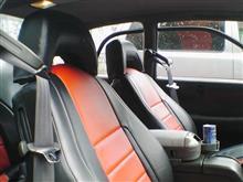 SVXのシートカバー