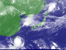 台風16号 マラカス