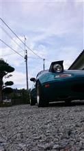 月2洗車(台風直前編)