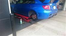 車の整備三昧