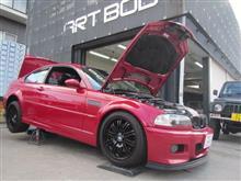 BMW M3 車高調整