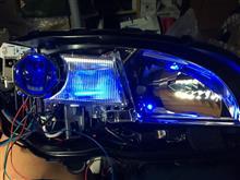 オリジナルヘッドライト加工(その2)