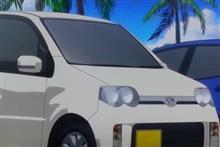 各アニメから見る軽自動車の表現方法
