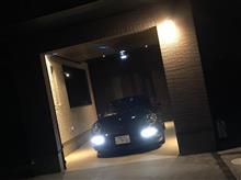 ガレージへ入庫完了