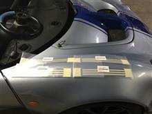 モールディングテープ トヨタ アルミテープ