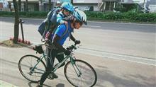 親子サイクリング