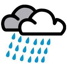小雨でも、心は晴れ晴れ!