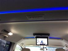 LED間接照明付けました
