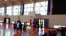 バスケ追い込み練習