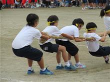 小学生最後の運動会