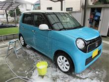 リハビリ洗車