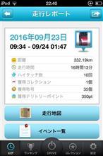 ハイドラ起動してドライブ 2016/09/23
