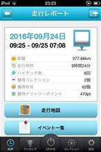 ハイドラ起動してドライブ 2016/09/24