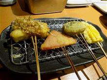 串揚げは美味い。