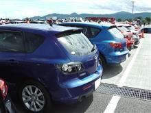 プリウスコーナー。(アクセラパレードラン@Be a driver. Experience at FUJI SPEEDWAY)