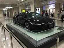 名古屋駅で新型NSX