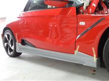 S660サイドスポイラーの新製品を製作中