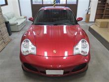 ポルシェ 911(996)911 ターボ、採寸&装着確認(完成)